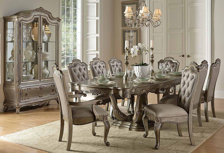 Florentina Dining Room Set Homelegance In Formal Dining Sets The Elaborate Designs Formal Dining Tables Formal Dining Room Sets Rectangular Dining Room Table Formal dining room table sets