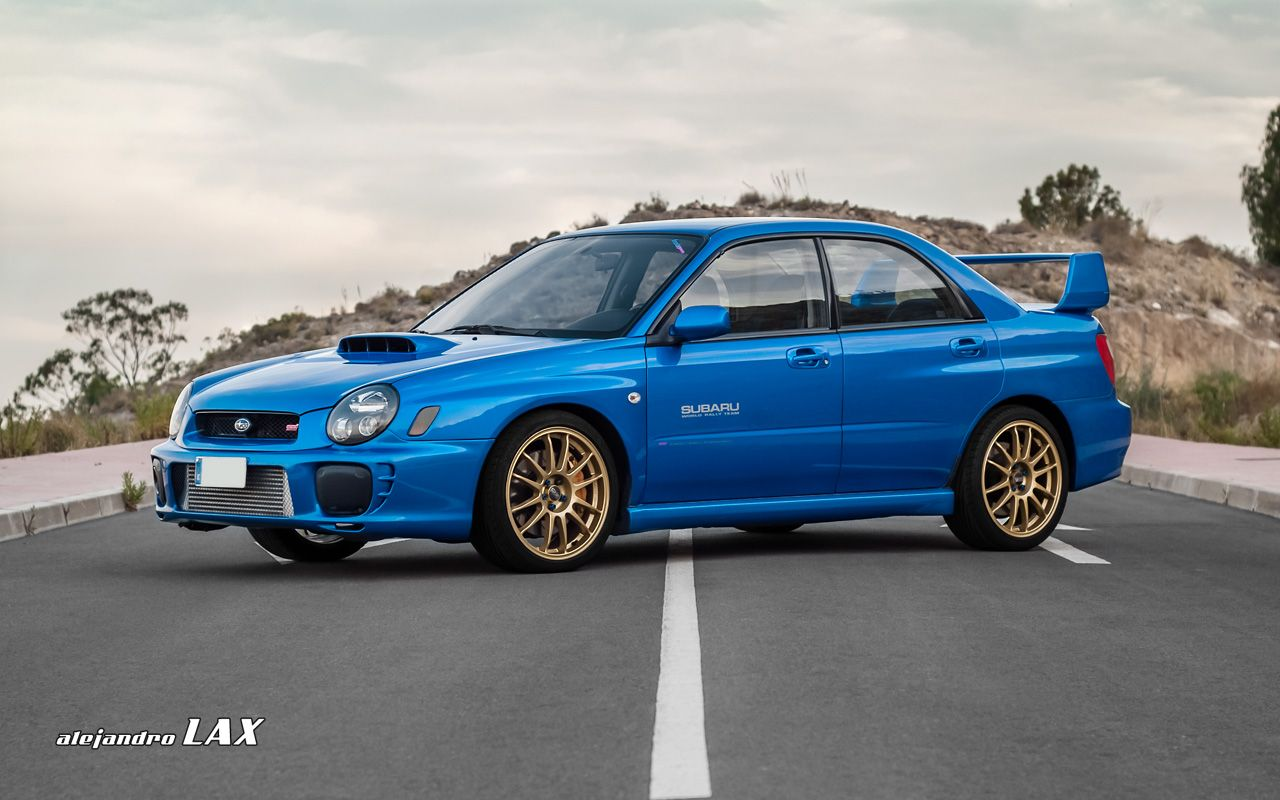 Impreza Blue Might Be The Greatest Color In The World.