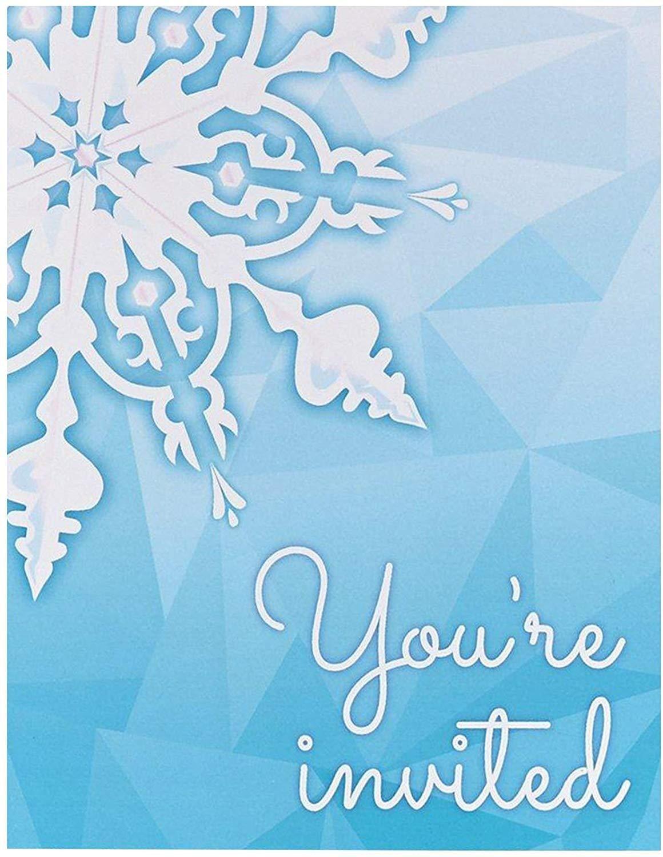42 Winter Wonderland Invitation Template Free