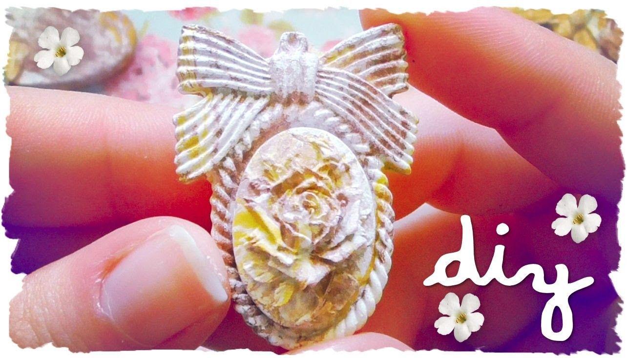 Tutorial: Decorazioni Shabby Chic in DAS | DIY Mini Decorations