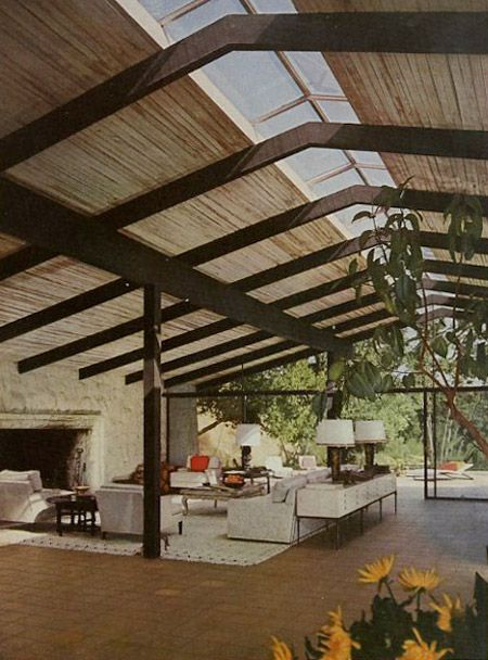 Cliff may modern ranch house from 1958 a slice in time - Modern ranch home interior design ...