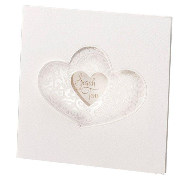 Hochzeitseinladung U201cMichelleu201c   Raffinierte Einladungskarte Zur Hochzeit    Weddix