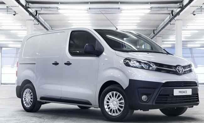 New Toyota Proace Van Price