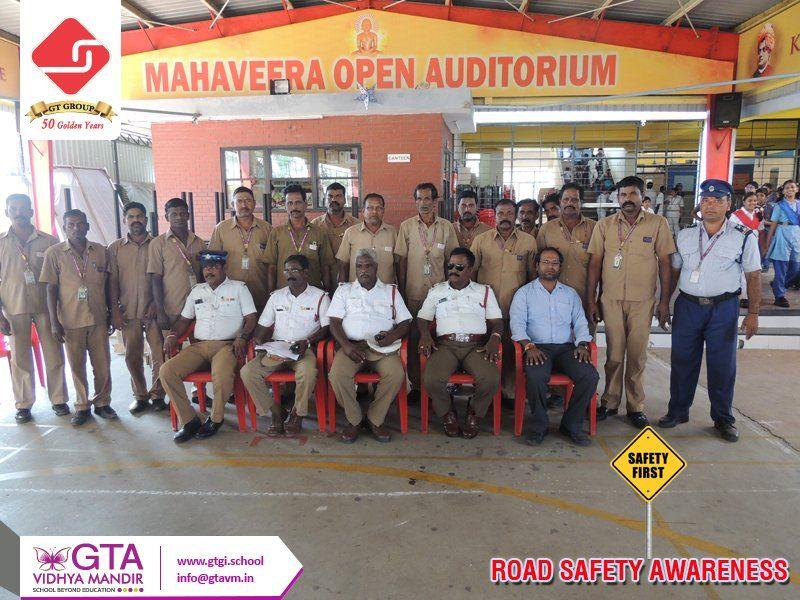 Road Safety Awareness RSP wing of GTA Vidhya Mandir