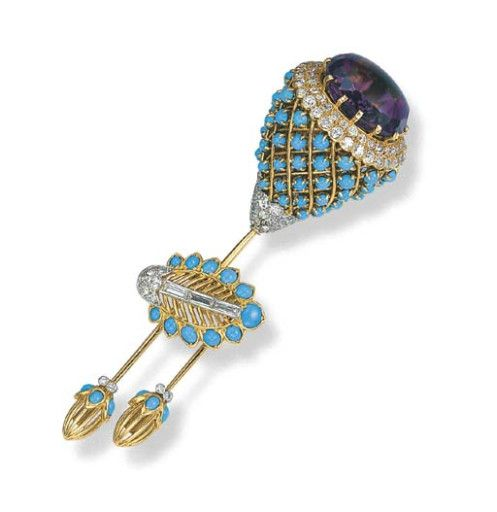 brooch, cartier jewels of the duchess of windsor