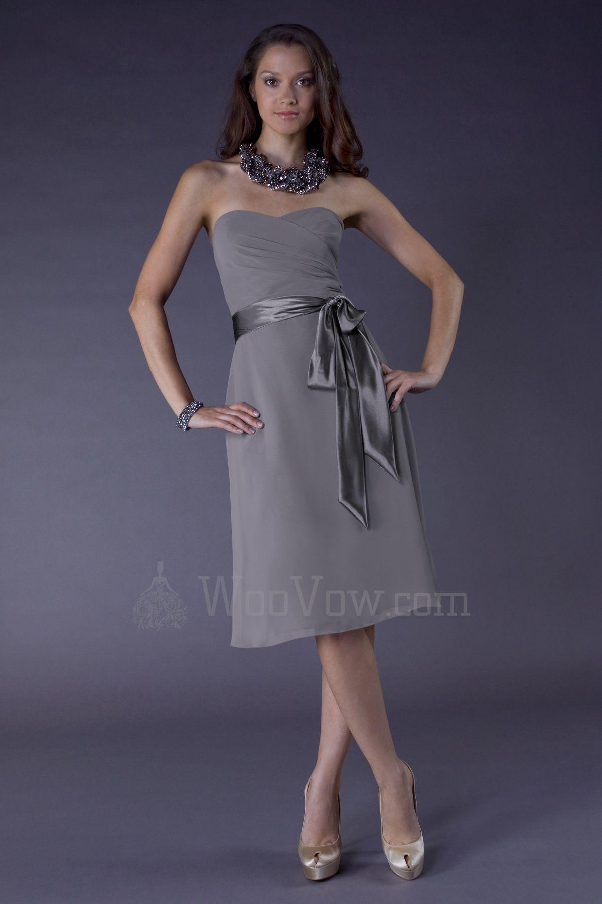 A-line Chiffon Sweetheart Neckline Wrap Bodice Short Prom Dress [WV783421] - $99.00 : Wedding Dresses