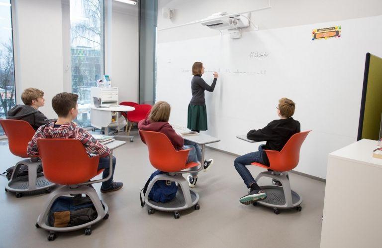 Khoroshevskaya Gymnazium - Khoroshkola School | Classroom chairs ...