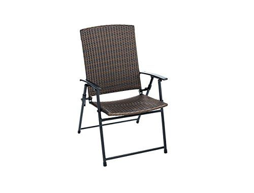 living accents frs50852 folding wicker chair pack of 4 living