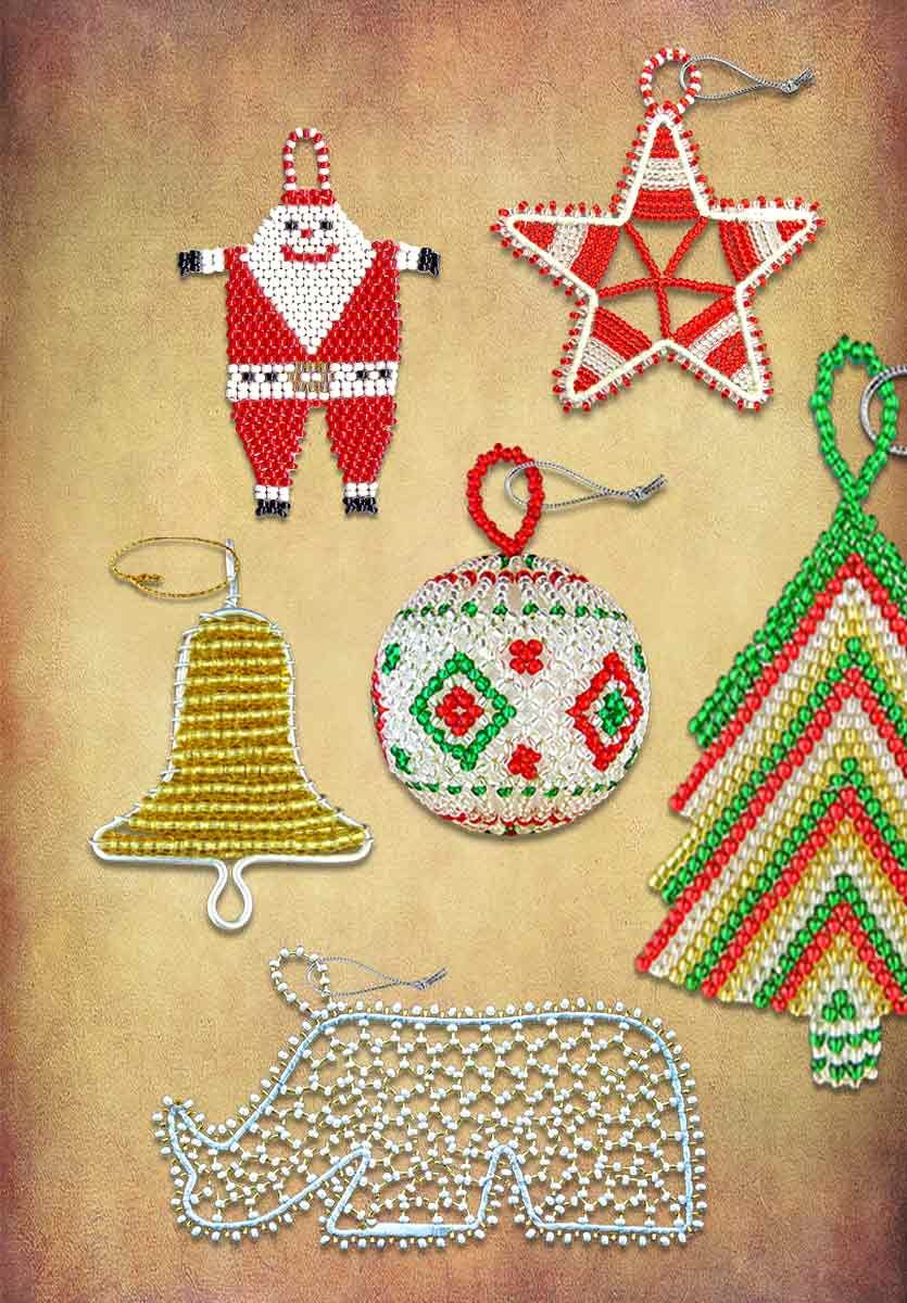 African Beaded Christmas Ornaments Traditional African