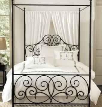 Black Iron Bed 7