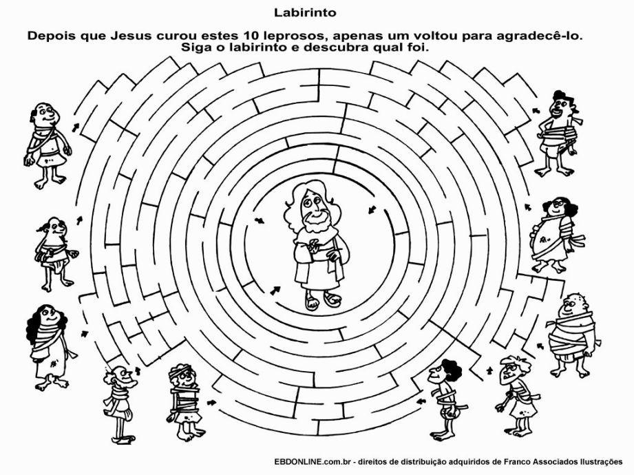 Jesus Heals 10 Lepers Coloring Page Jesus Heals Sunday School