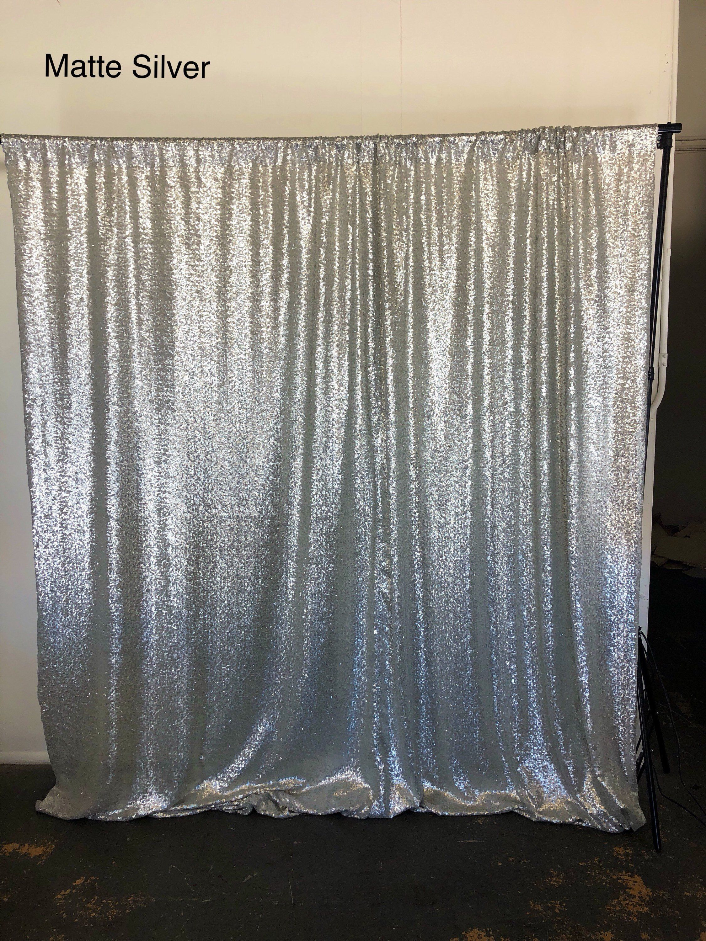 Photo Booth Sequin Curtains Gold Sequence Curtains Photo Backdrop