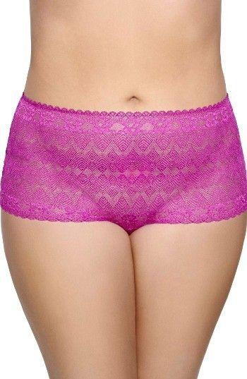 cb99c53bb2c Plus Size Women's Ashley Graham Lace Thong | Curvy Girl Lingerie ...