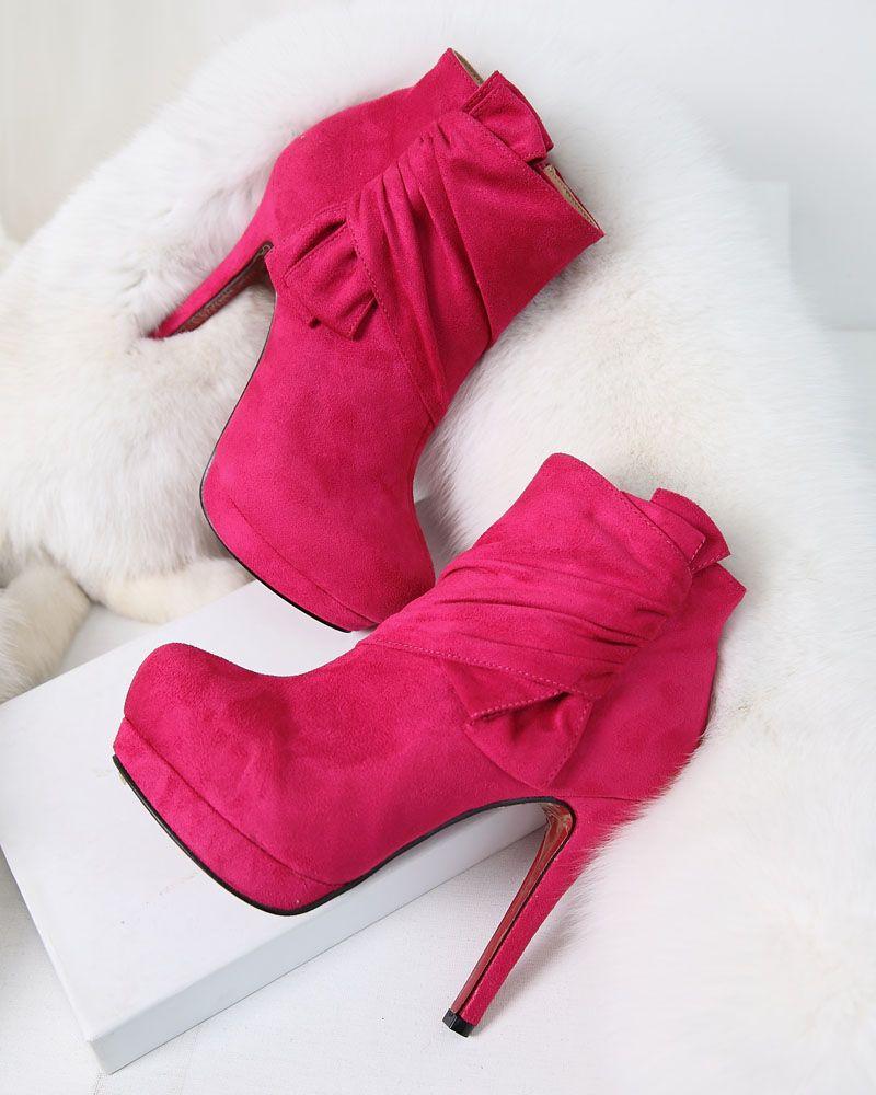 Taobao sexy high-heeled boots