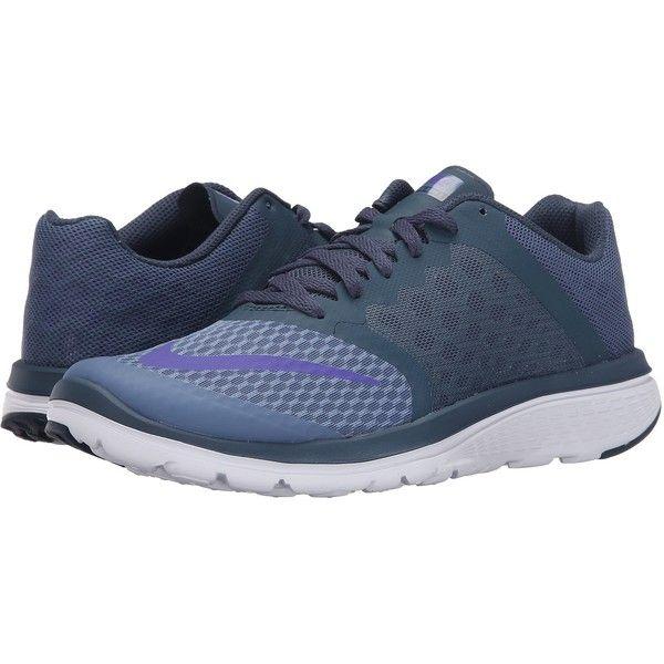 Womens Shoes Nike FS Lite Run 3 Ocean Fog/Squadron Blue/White/Fierce Purple