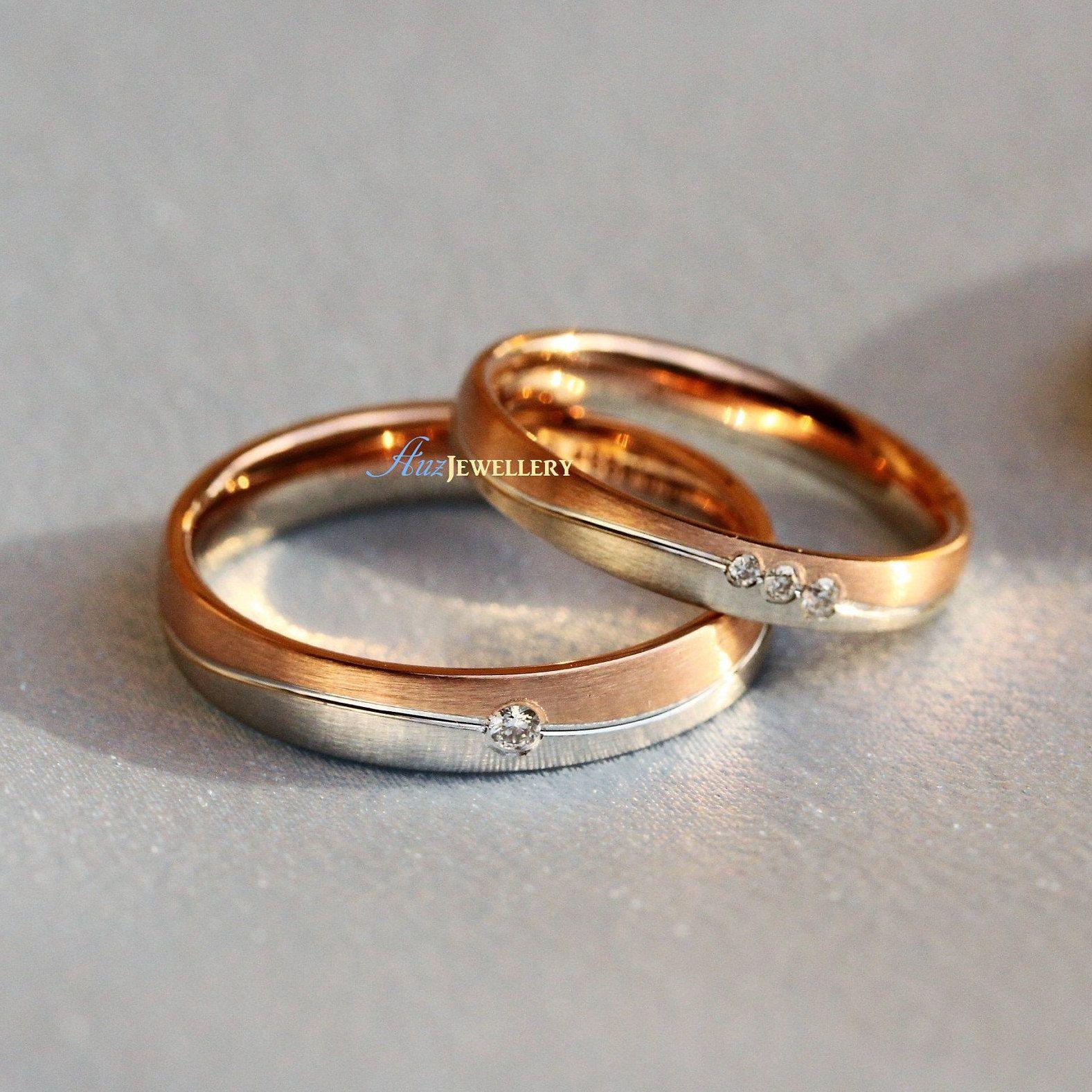 Wedding Couple Rings Gold Designs With Price Addicfashion