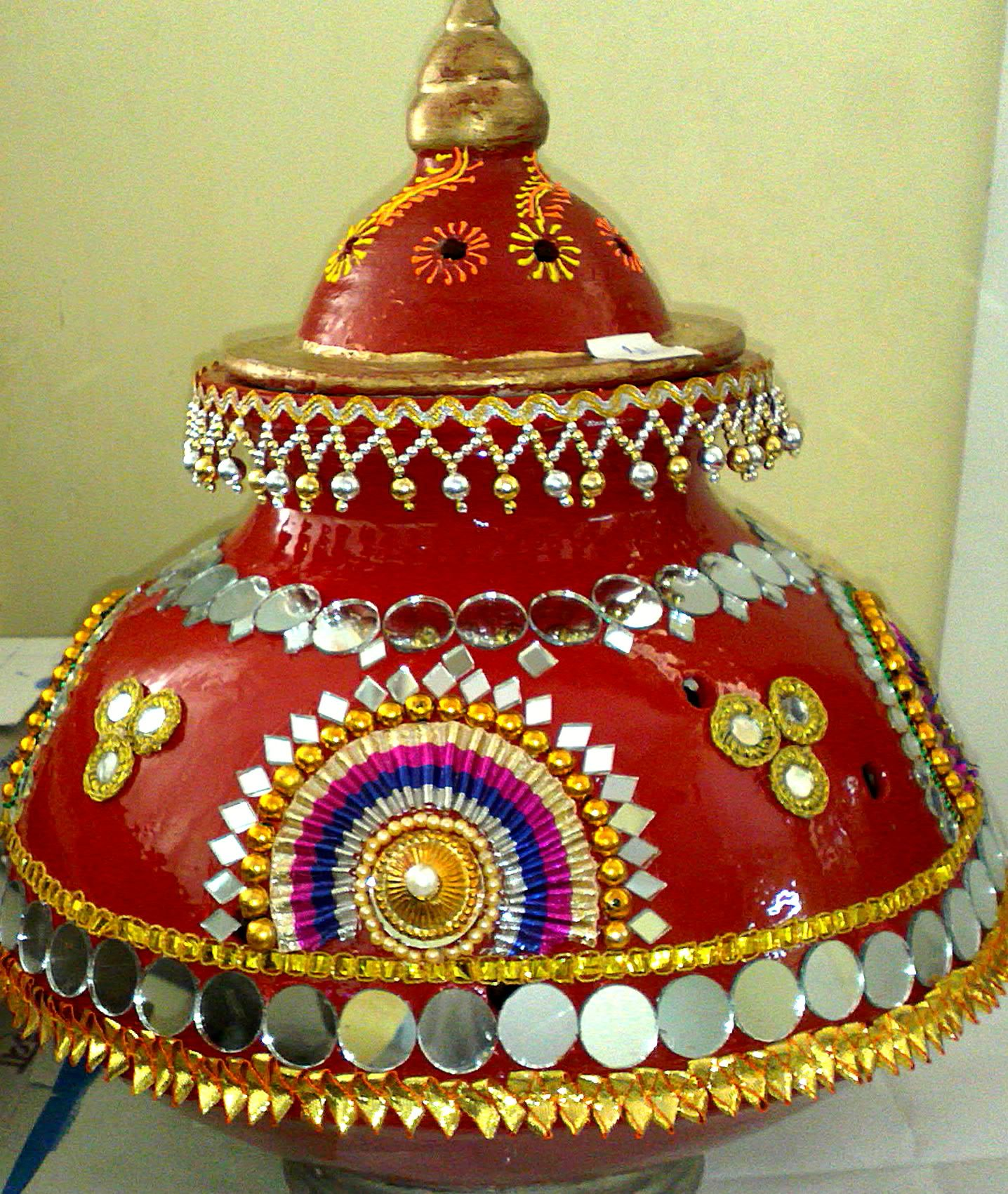 Navaratri Garba Decoration