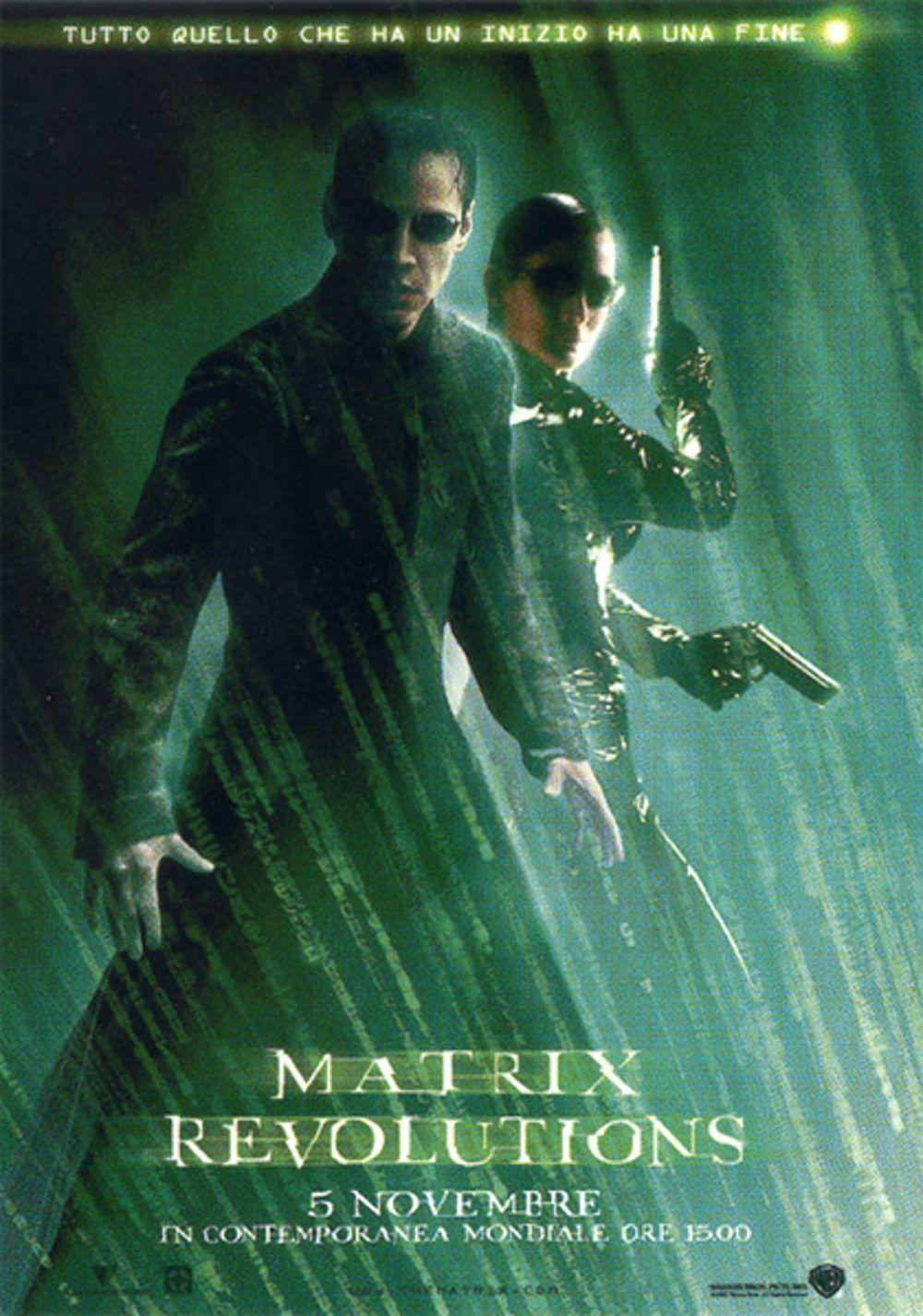 Matrix Revolutions Streaming Film E Serie Tv In Altadefinizione Hd Film Fantascienza Fantascienza Film