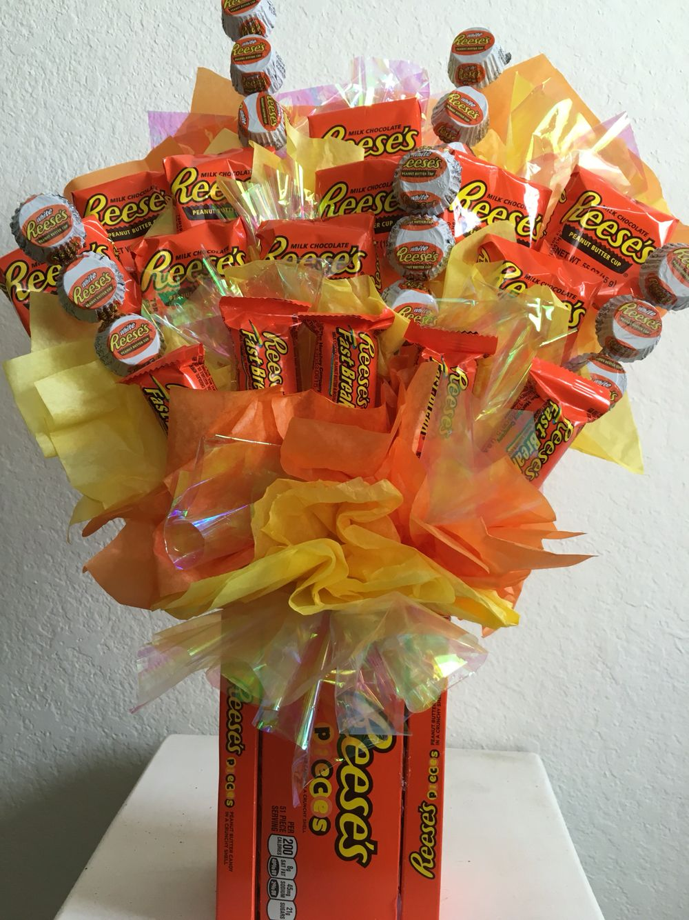 Reese's candy bouquet                                                                                                                                                                                 More