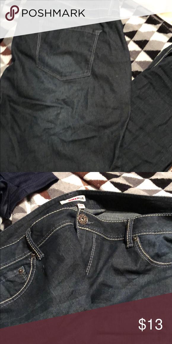 5090ed980b4 Bongo Plus size dark denim jeans Very Comfy