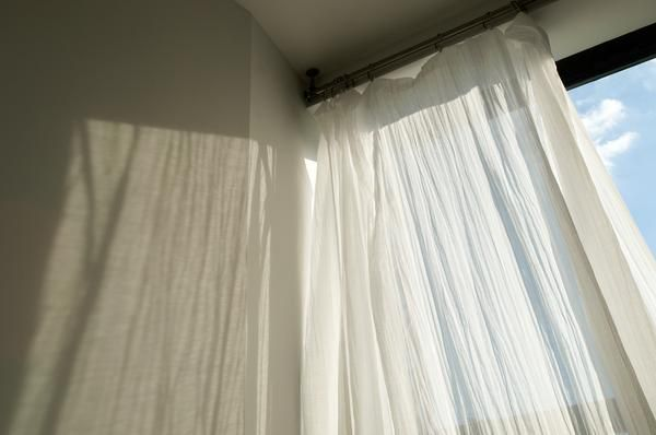 Making Traverse Rod Curtains Curtain Installation How To Make