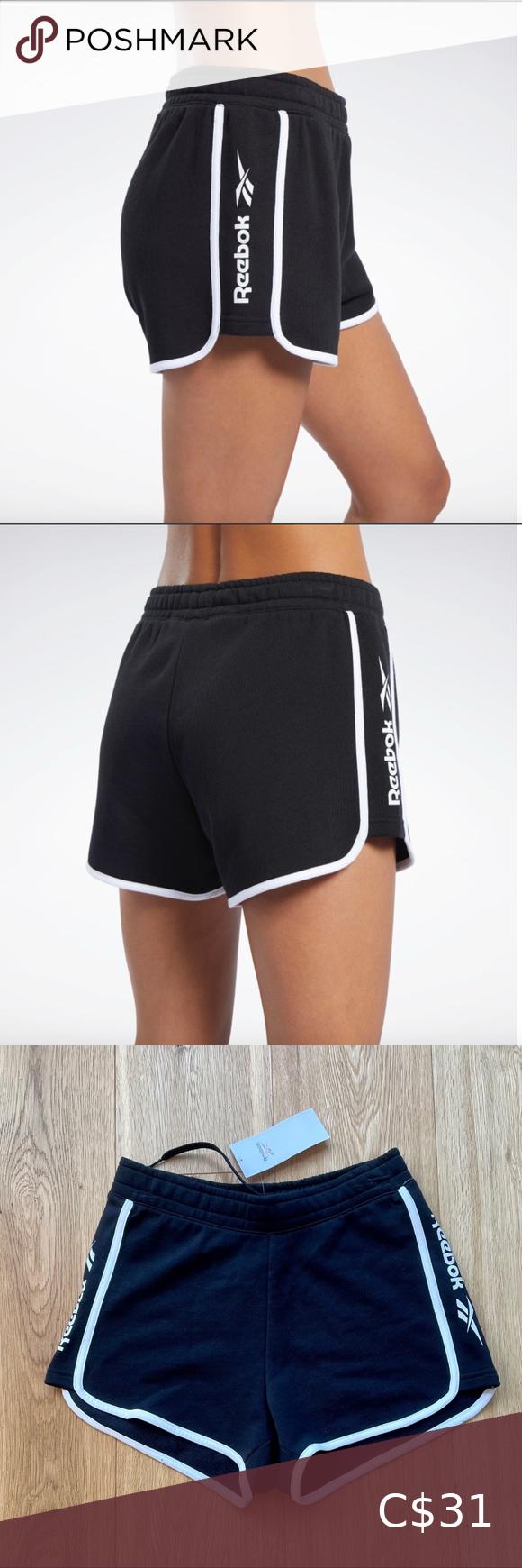 Nwt reebok classics linear shorts - xs NWT REEBOK