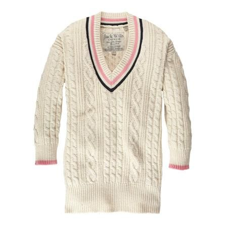 c3a1171e46e Classic tennis v-neck jumper Evelyn by Jack Wills | My Style in 2019 ...