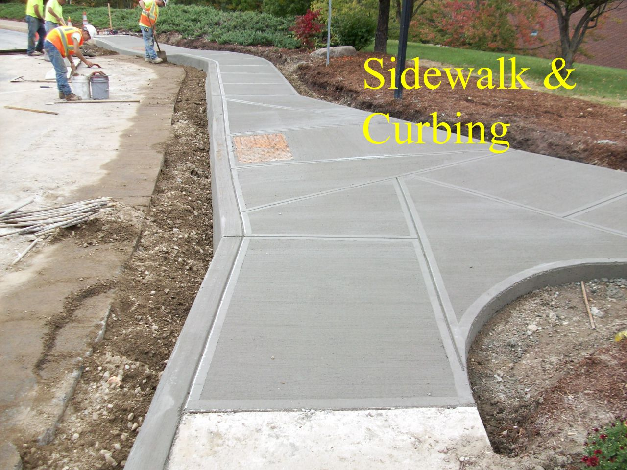 Concrete Curbs Sidewalks And Ramps Are Subject To Abuse