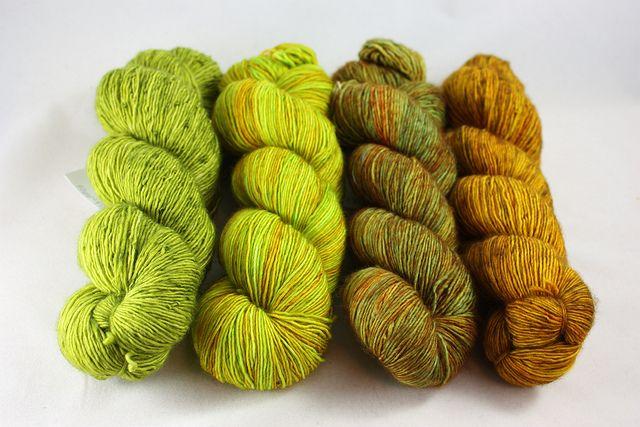 Grasshopper, Maple Leaf, Filligree, Candlewick