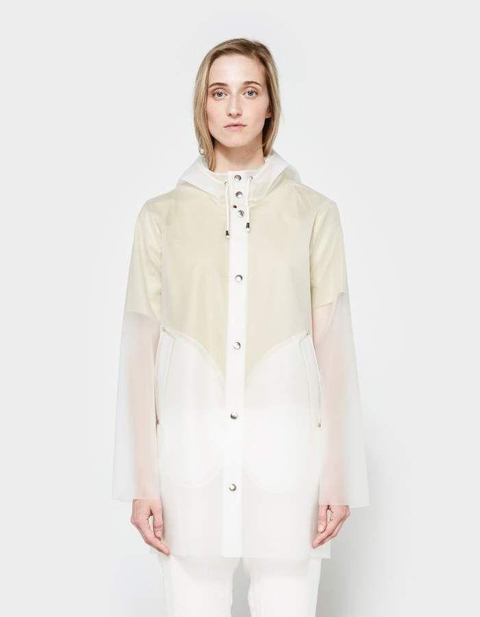 f033a17ac Stockholm Transparent Rain Coat | Products | Stutterheim raincoat ...
