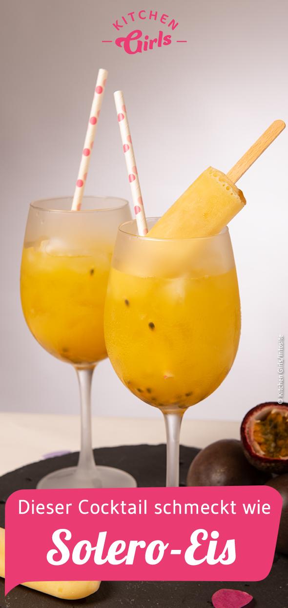 Dieser Cocktail schmeckt wie Solero-Eis #refreshingsummerdrinks