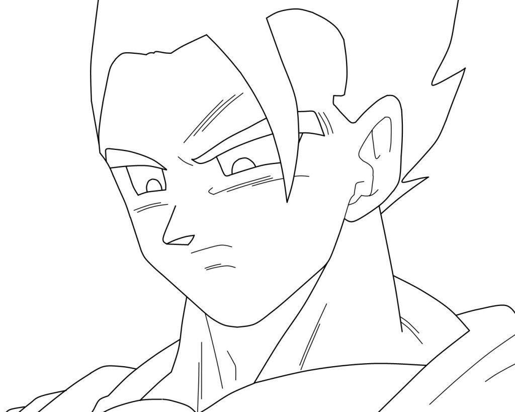 Suficiente Resultado de imagem para desenhos do goku para desenhar | anjinho  DV31
