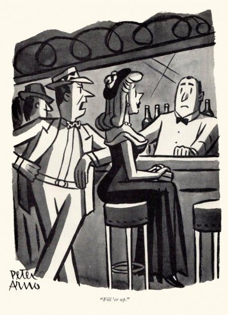 Peter Arno  More Illustrations  Comic Books Art, Adult -2226