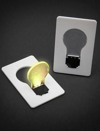 Cool gadgets like these wallet light bulbs
