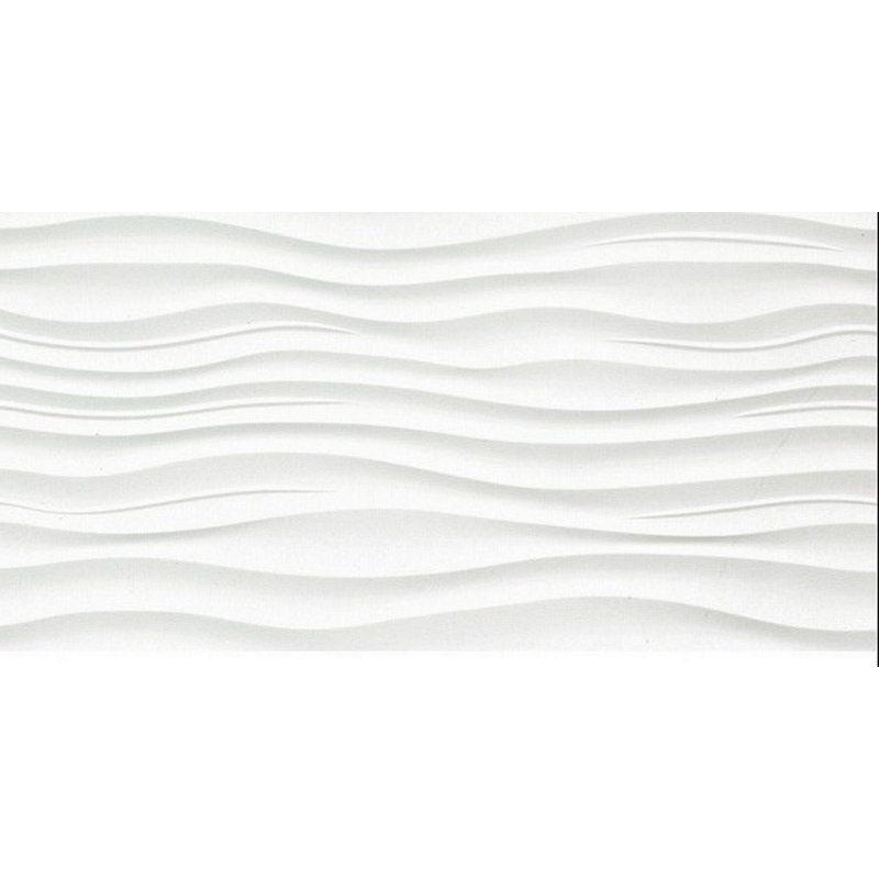 Emser Tile Surface 12 X 24 Porcelain In Ripple White Wayfair