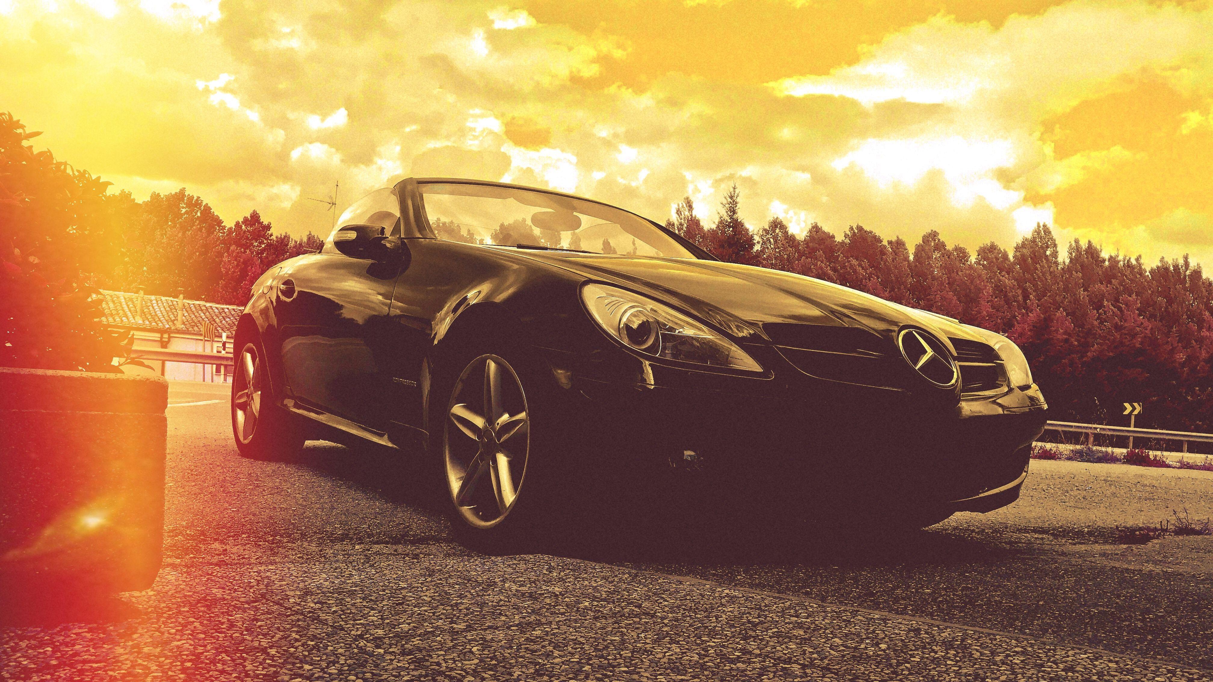 Mercedes-Benz SLK R171. Un roadster clásico!