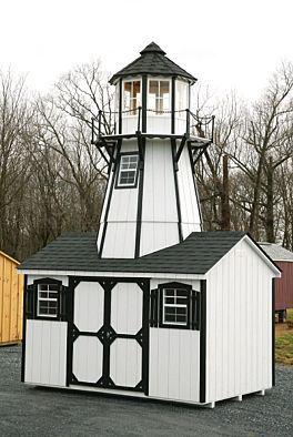 20 Lighthouse Storage Shed Get Shed Plans Here Pinterest