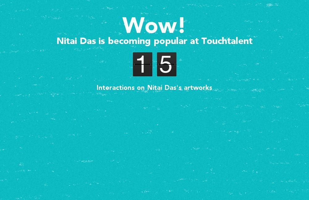 Nitai Das is becoming popular @touchtalent.com