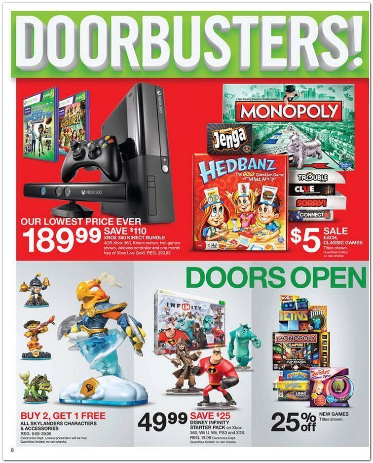 Target Black Friday 2013 Ad Page 8 Ad Black Friday Black Friday Ads