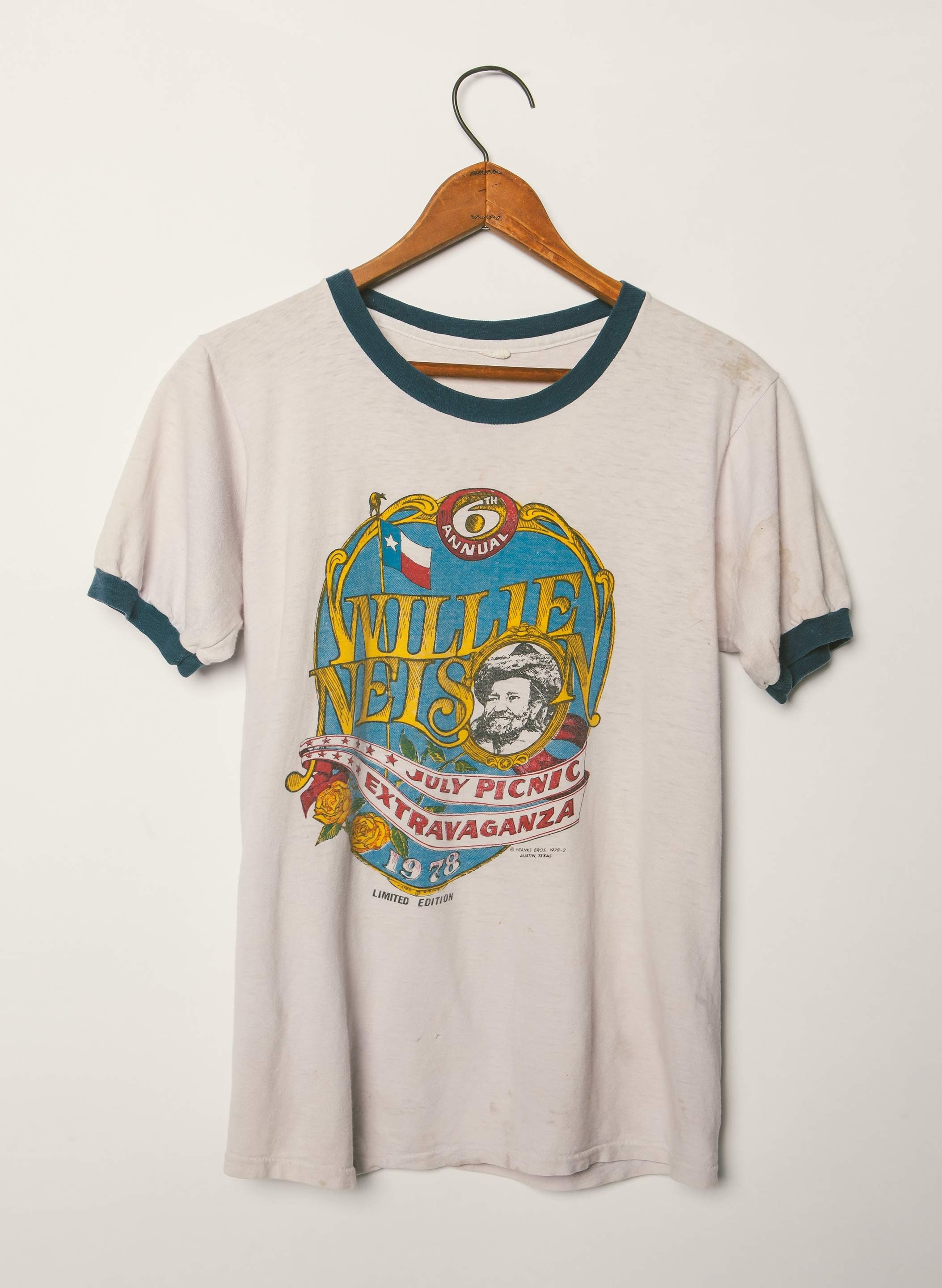 tee shirt Willie nelson vintage