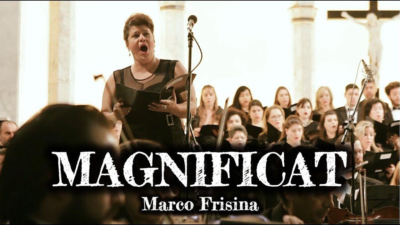 Magnificat Frisina Com Traducao Em 2020 Concertos Evangelho