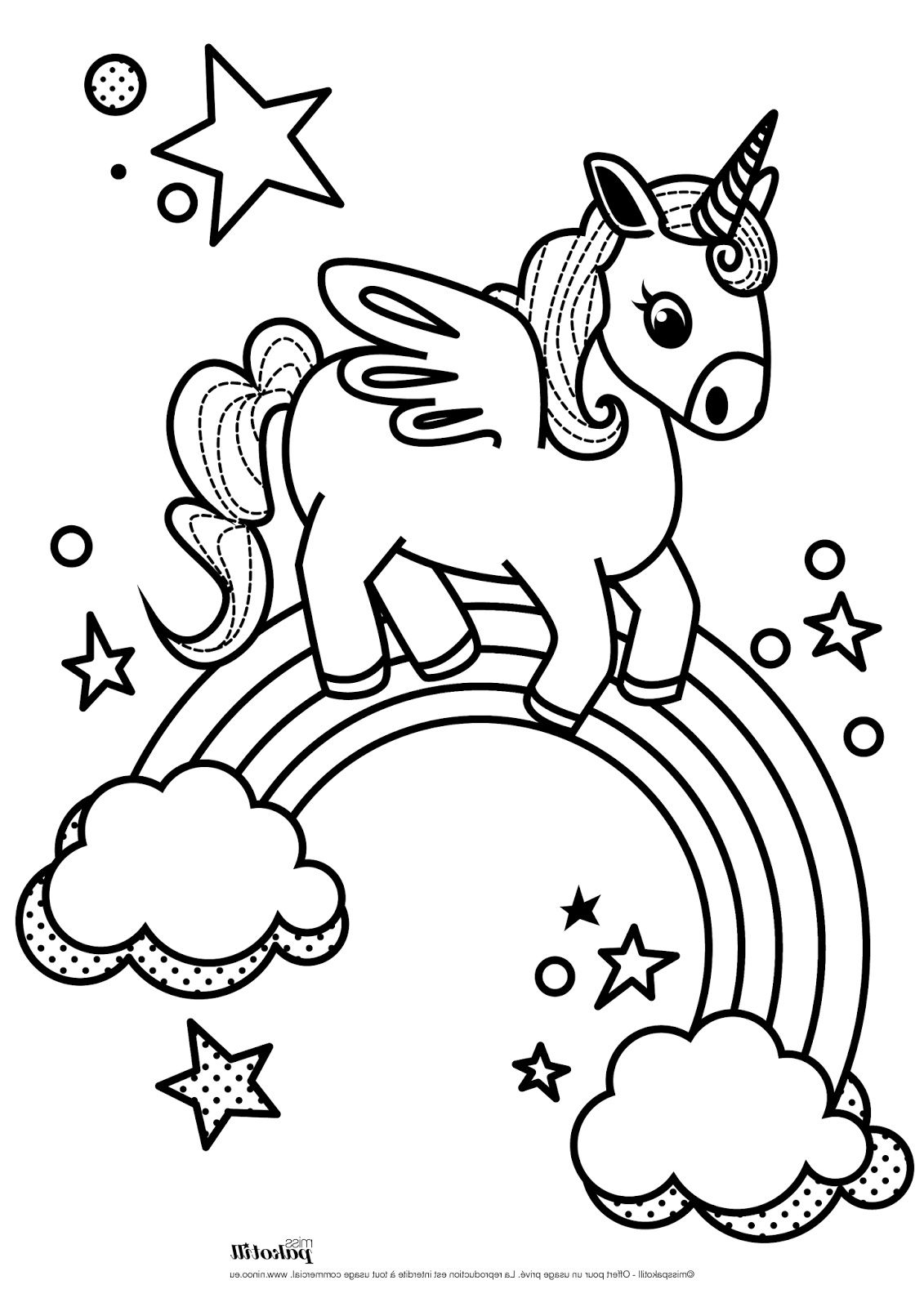 Epingle Par Anmy Borbor Sur Unicornio En 2020 Licorne Coloriage