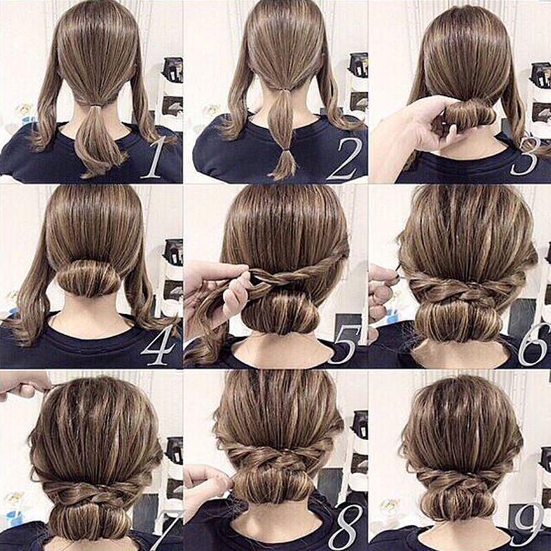 Penteados Para Madrinha De Casamento Hairstyle Penteados
