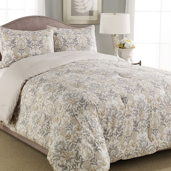 Laura Ashley Penelope 3-piece Comforter Set - Overstock™ Shopping