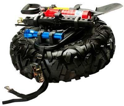 Pro Armor Quickshot Universal Spare Tire And Accessory Mount Horizontal Spare Tire Rzr Accessories Polaris Rzr Xp