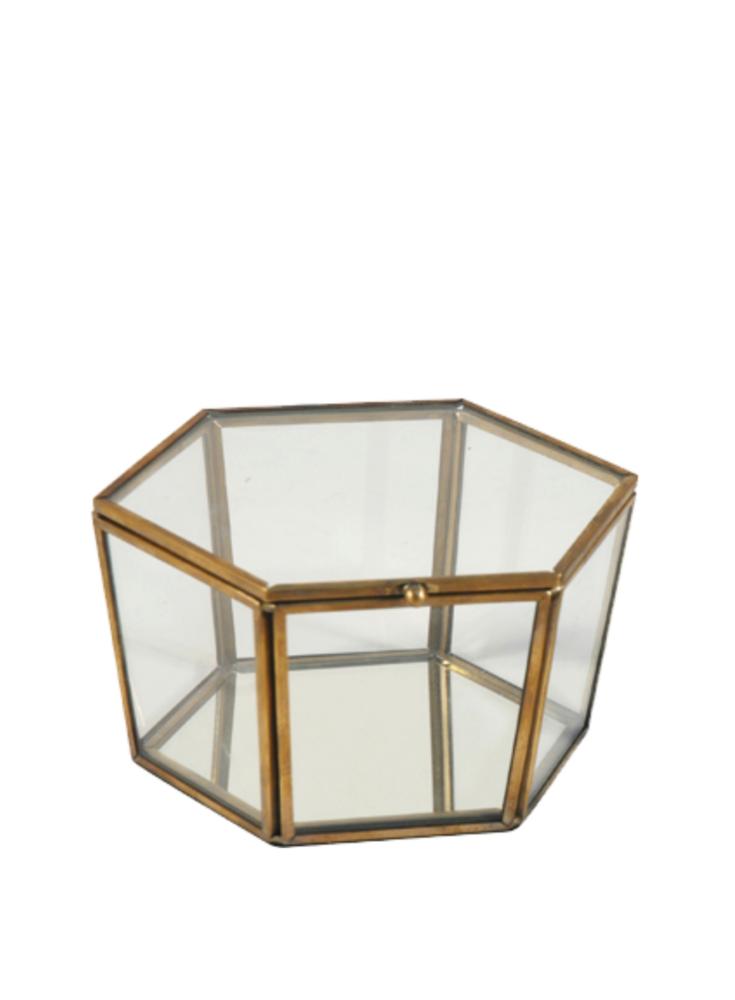 A Loja do Gato Preto   Caixa Vitrine Hexagonal #alojadogatopreto