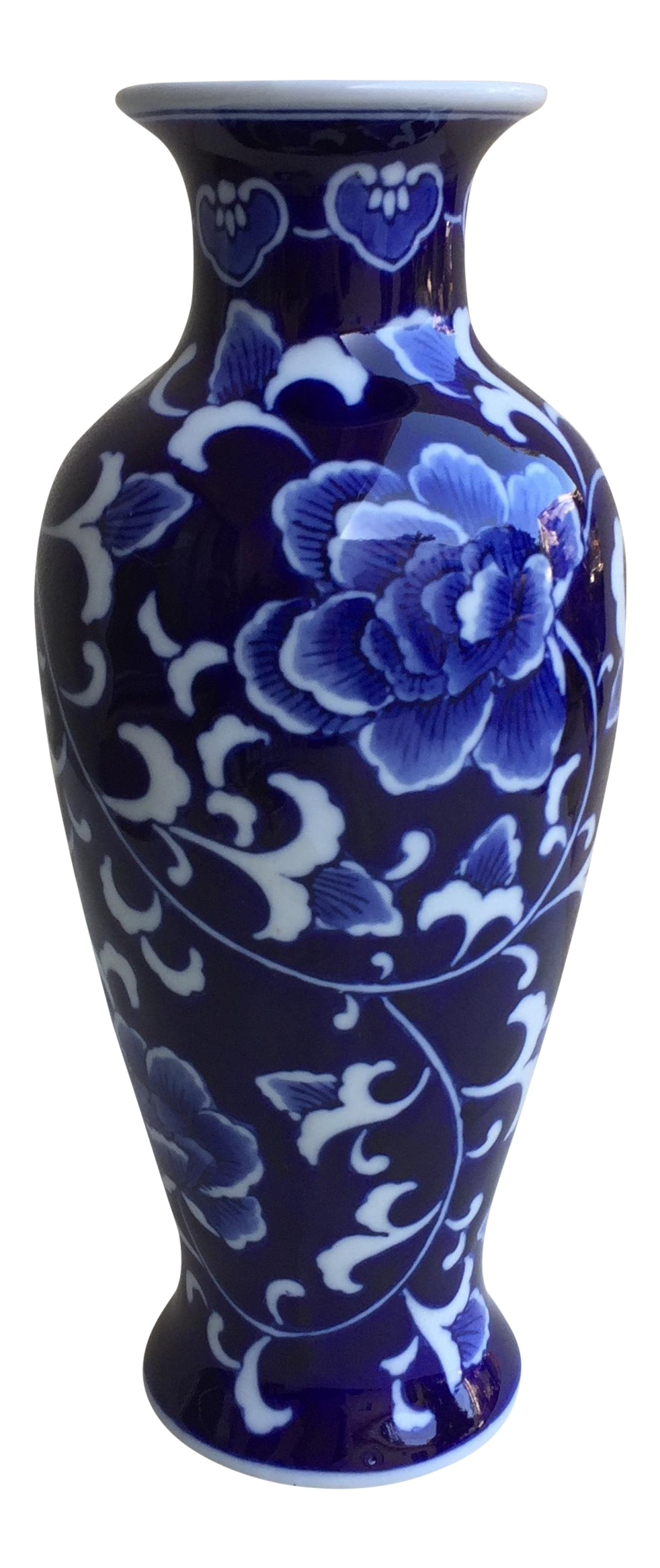 Asian blue white lotus flower vase white lotus flower white asian blue white lotus flower vase reviewsmspy