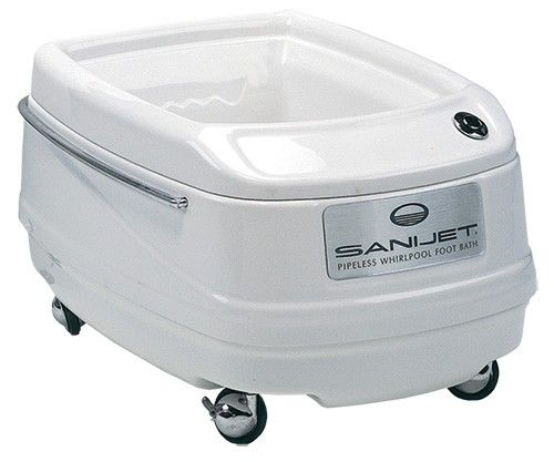 Sanijet Pipeless Foot Bath Pedicure Chairs The