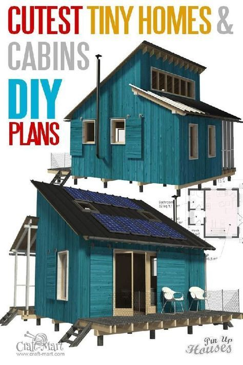 9 Adorable micro home plans and designs for fun weekend projects