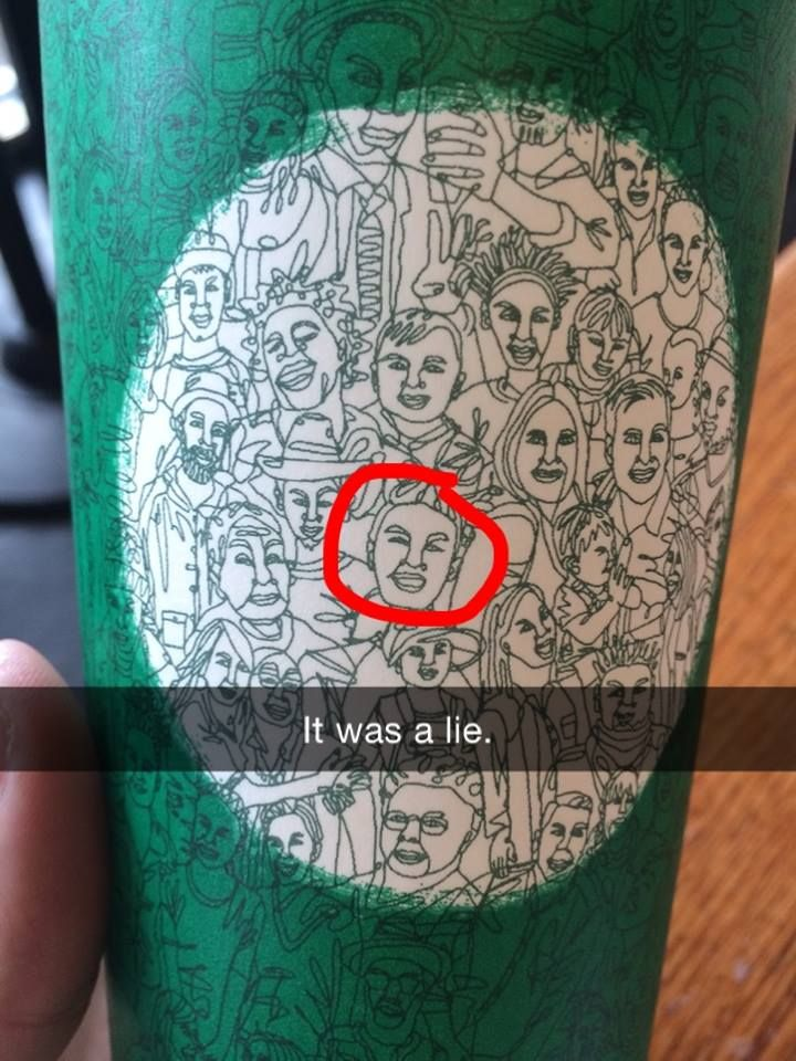 They said the new Starbucks cup art was made with one line but...   http://ift.tt/2eCPsp7 via /r/funny http://ift.tt/2ftdXnS  funny pictures